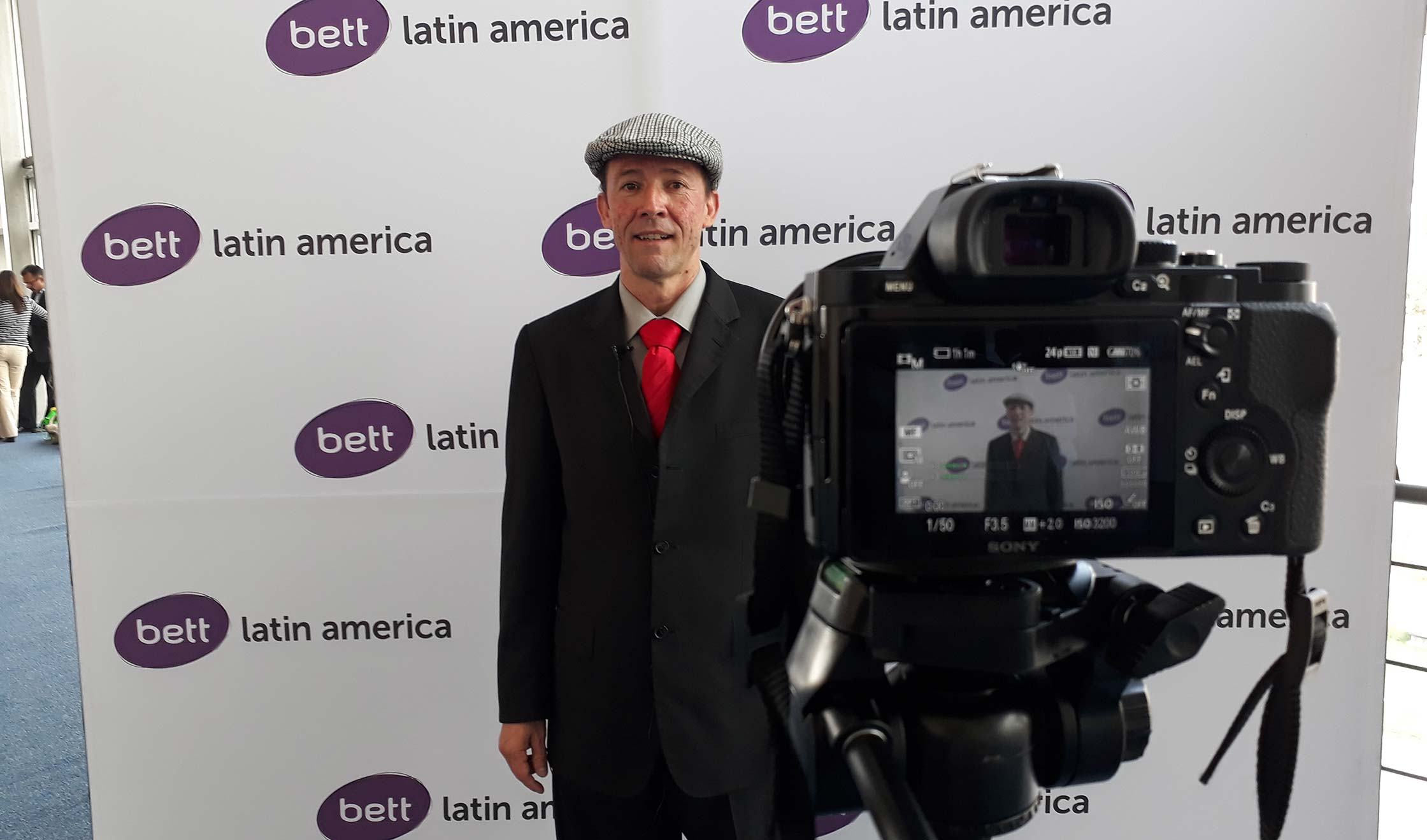 Carlos Arturo Montoya,  ponente en Bett Latin America