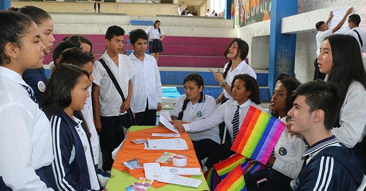 Estudiantes de Calarcá fortalecieron el respeto, la convivencia y el diálogo