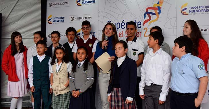 Mauricio Ledesma y Sebastián Rincón, finalistas en Supérate con el Saber