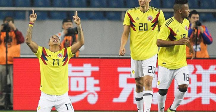 Colombia cerró la gira asiática con victoria 4-0 sobre China