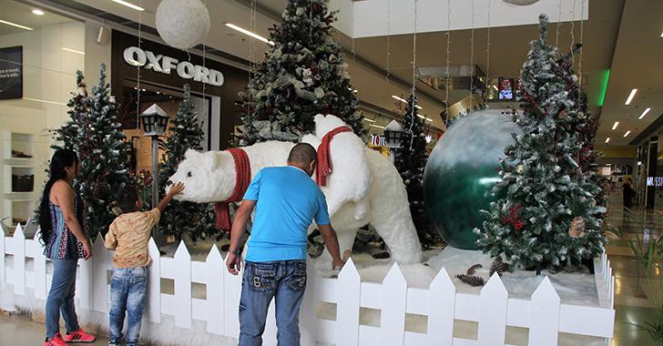 Una 'Aventura en el Polo Norte' se vivirá desde este sábado en Unicentro