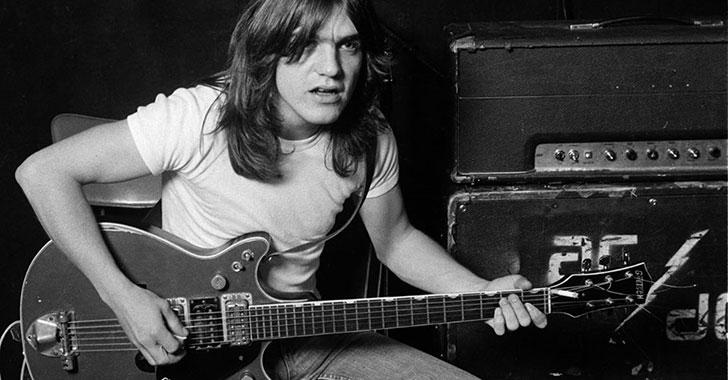 Este sábado falleció Malcolm Young, guitarrista y cofundador de AC/DC