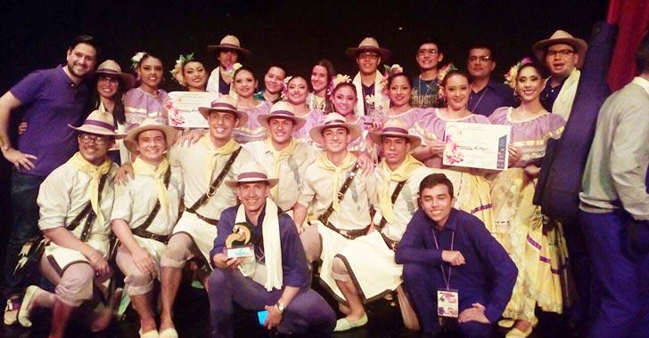 Grupo de danzas Mestizo de la Uniquindío ganó concurso nacional