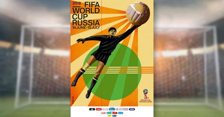El póster oficial del Mundial de Rusia 2018 homenajea al gran Lev Yashin
