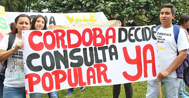 Tribunal dio vía libre a consulta popular minera en Córdoba