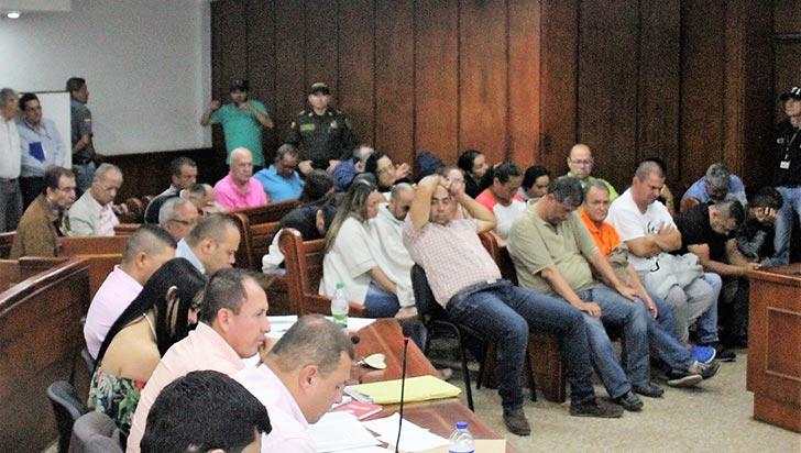 Banda de chance ilegal no aceptó cargos; solicitarán la medida de aseguramiento