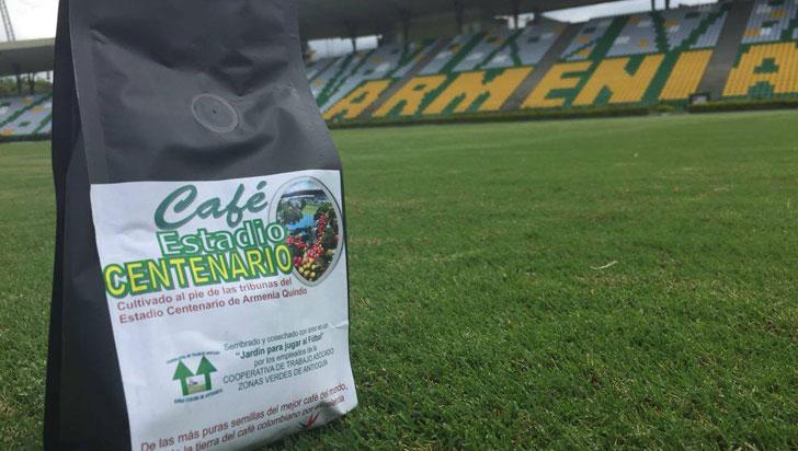 Estadio Centenario presentó su marca de café