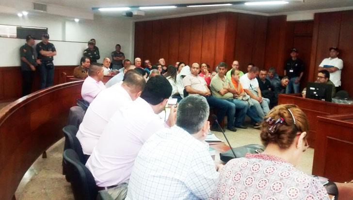 Solicitaron medida de aseguramiento contra concejal, exdiputado y otros 6 procesados
