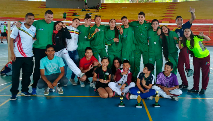 Quindío ganó 7 oros, 12 platas y 17 bronces en bádminton