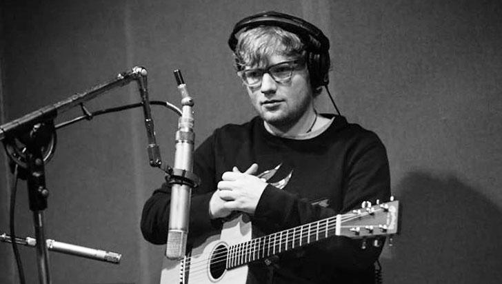 Ed Sheeran fue el más escuchado en Spotify en 2017