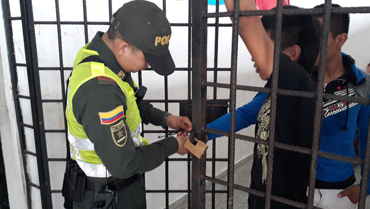 70 delincuentes reincidentes identificados  en el Quindío; 30 ya están tras las rejas
