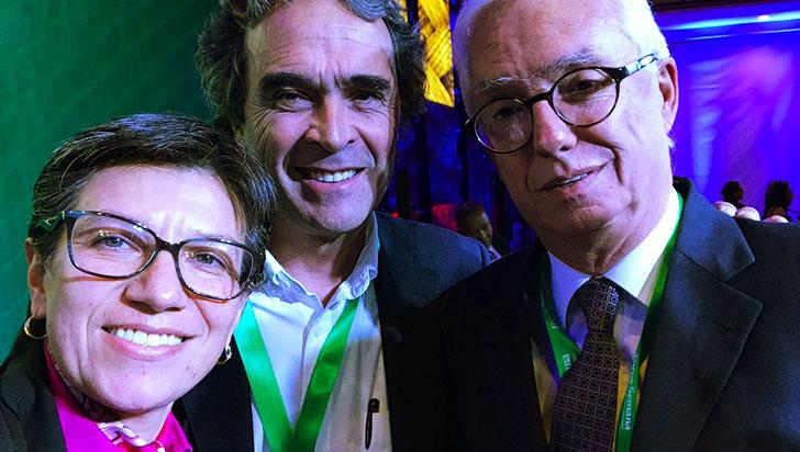 Claudia López pidió perdón a Sergio Fajardo y ratificó su alianza