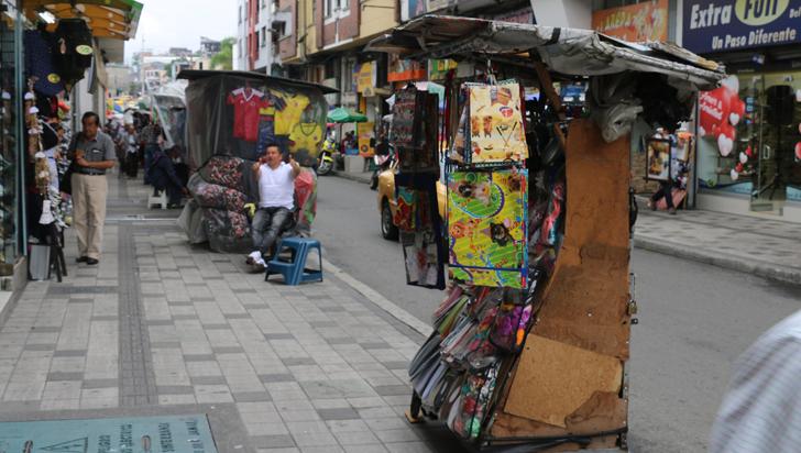 Alcaldía de Armenia anunció que habrá multas a compradores ambulantes