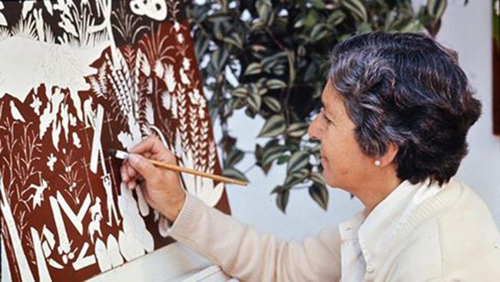 Olga de Chica, artista de Filandia y del Paisaje Cafetero, a un año de su muerte