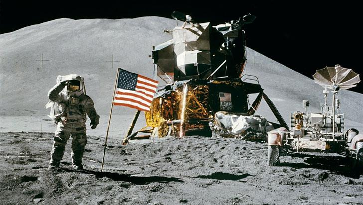 """Trump quiere establecer """"una base"""" en la Luna para tratar de alcanzar Marte"""