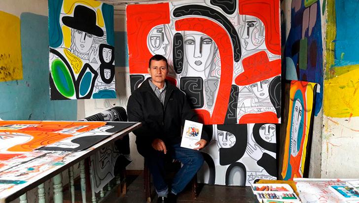 Abiézer Agudelo expone este miércoles en el Club de Oficiales de la Policía en Bogotá