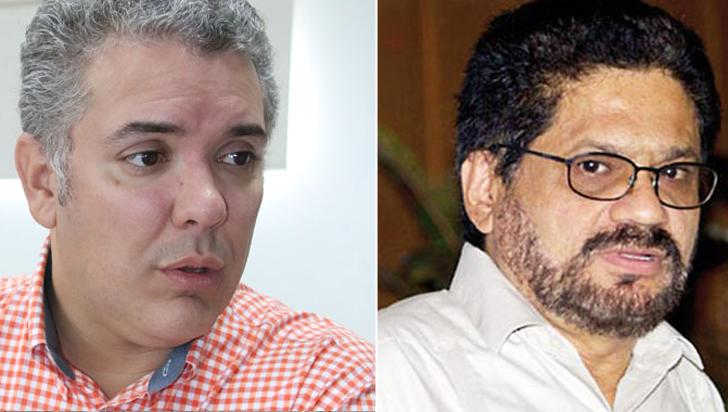 En reunión uribista, presentador confunde a Iván Duque con Iván Márquez