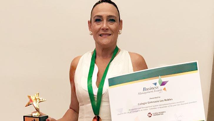 Gimnasio Los Robles, premio Liderazgo Educacional