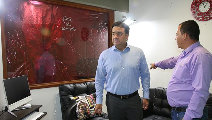 """""""Nos quieren sabotear la rendición de cuentas, pero estamos preparados con el Esmad"""": Alcalde"""