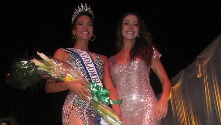 Geraldín Grajales, la primera quindiana en quedarse con la corona de Miss Maja Colombia