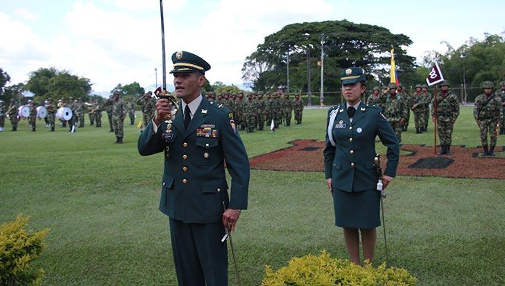 TC Montes, nuevo comandante del batallón Cisneros