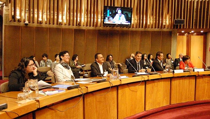 Cadenas productivas, tema de La Gran Colombia en encuentro en Chile