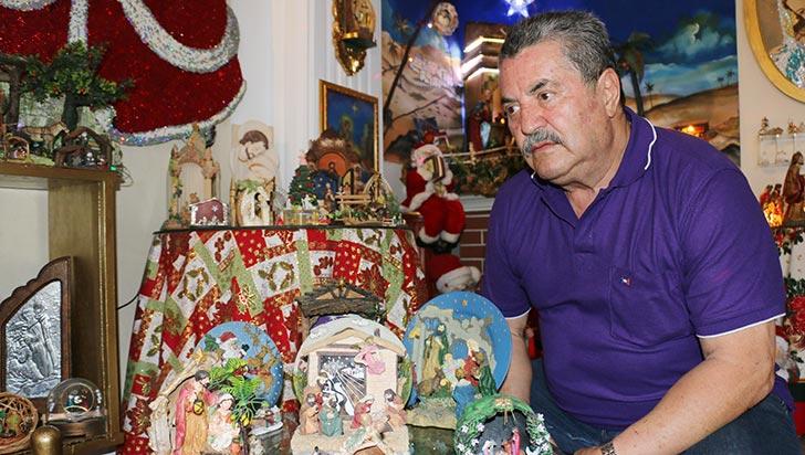 José María Ospina López, pasión por los pesebres