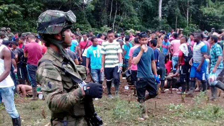 Imputarán cargos a dos oficiales por la muerte de siete campesinos en Tumaco