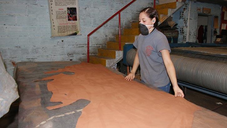 Leather Andina, con capacidad de producir mil pieles de alta gama al mes