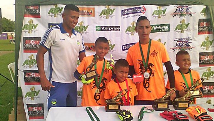 Arqueros Blandón logró títulos en Cali, Pereira y Popayán