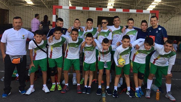 Cuyabros con tercer y quinto lugar en el Medellín Cup de Balonmano