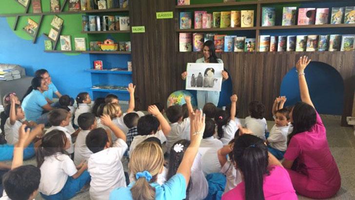 Niños envían cartas a pingüinos de la Antártida y se comprometen a cuidar el medio ambiente