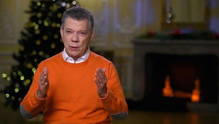 Presidente Santos invita a celebrar la vida en su mensaje de Navidad a los colombianos