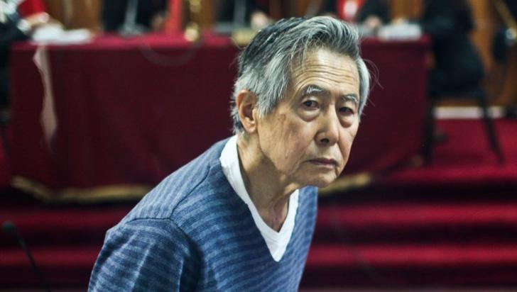 Alberto Fujimori en cuidados intensivos en una clínica de Lima