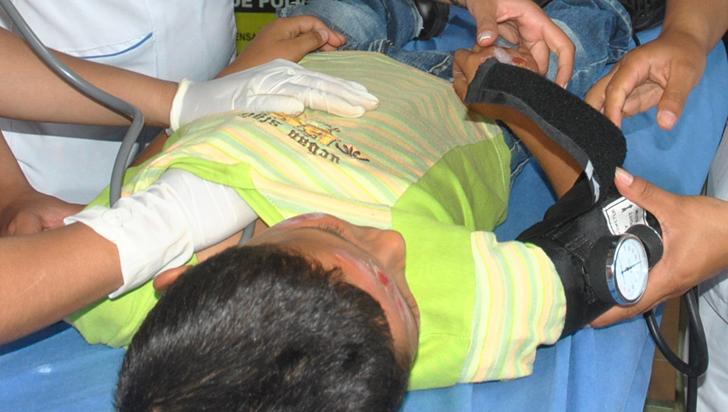 Van 293 personas quemadas con pólvora en Colombia, 20 en la noche de Navidad