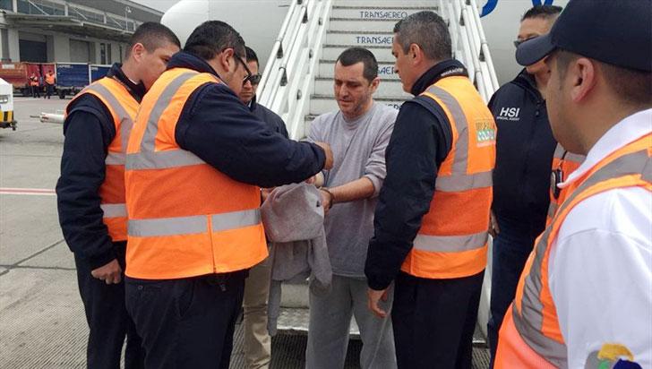 Estados Unidos deportó a Colombia a alias HH, exjefe de las Auc