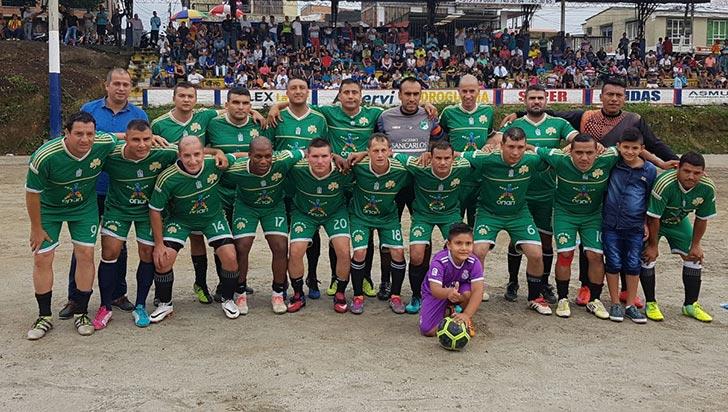 Equipo San Nicolás obtuvo título de Veteranos en Ciudad Dorada