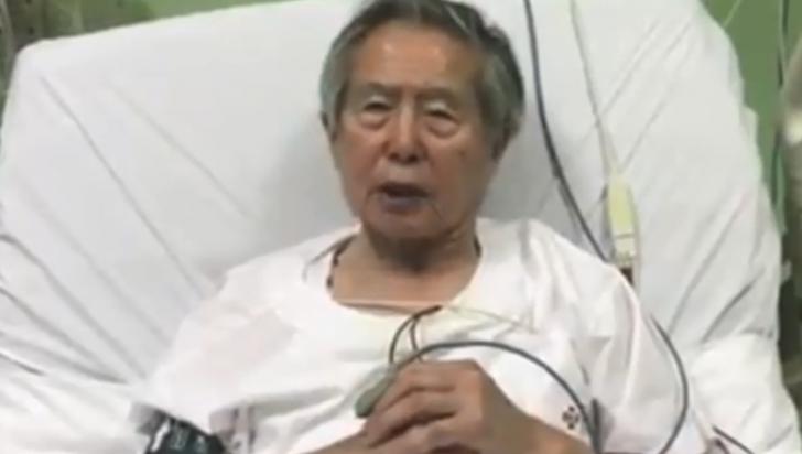 """""""Les pido perdón de todo corazón"""": Fujimori"""