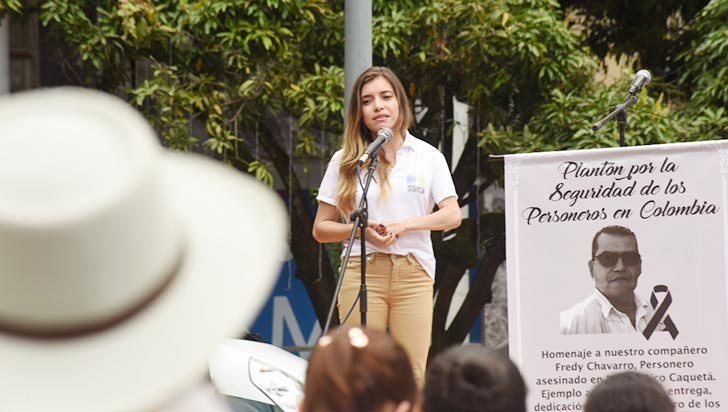 La UNP hará estudio de seguridad para la personera de Salento
