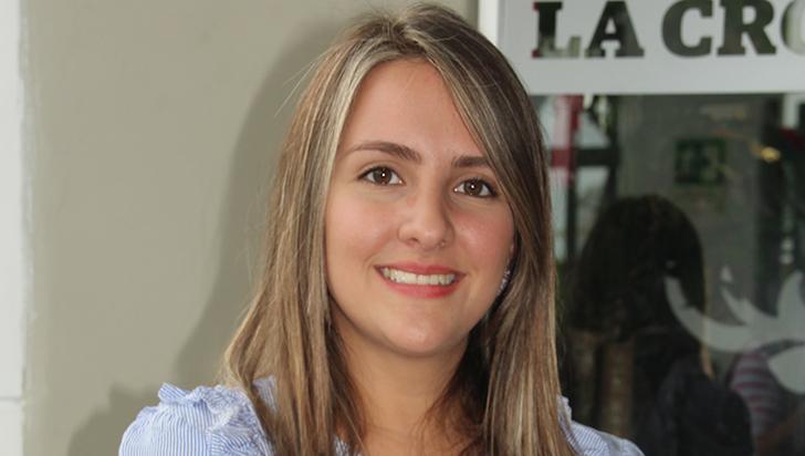 Andrea Estefanía López trabaja con toxinas de alacrán para cura del cáncer