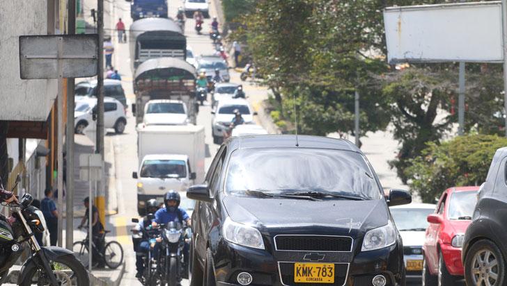 Unos 90.000 vehículos transitarán por vías del Quindío en el puente de fin de año