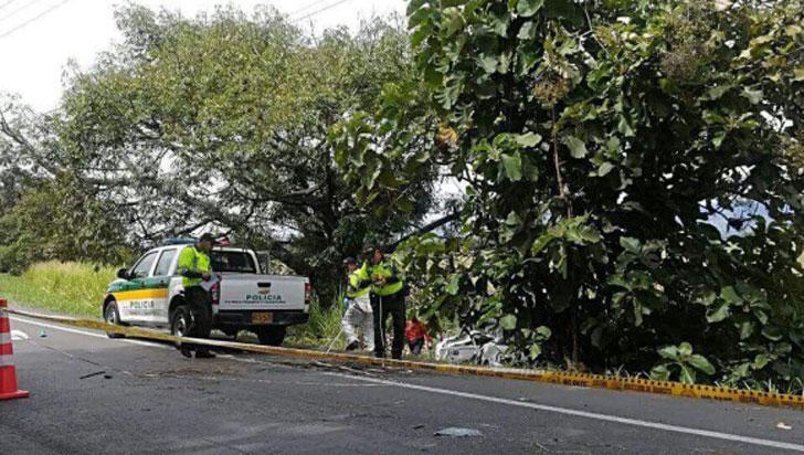Accidente en vía del Valle del Cauca dejó tres hermanitas muertas y una más herida