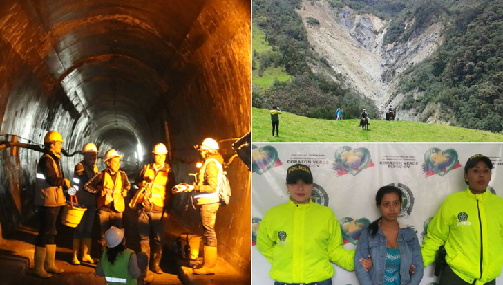 Medio ambiente, maltrato infantil y el túnel sin fin: las noticias de 2017 en el Quindío