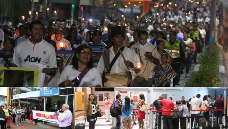 Los paros que fueron protagonistas en Colombia y en Quindío este 2017