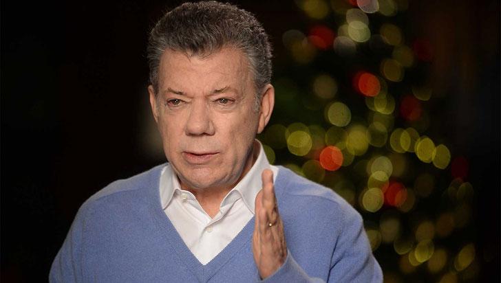 """""""No se dejen llevar por el pesimismo, crean en un mejor futuro para el país"""": Santos"""