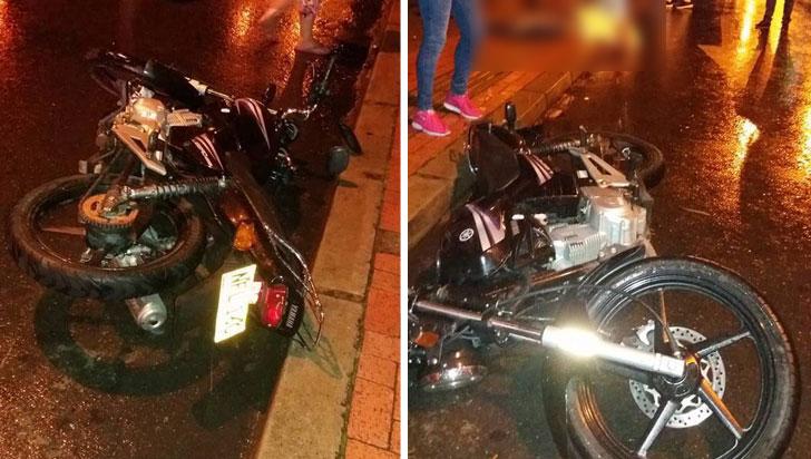 Motociclista perdió la vida en Calarcá tras impactar contra un poste