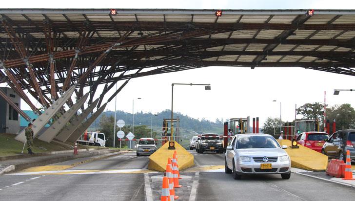 Policía reporta normalidad en las vías del Quindío durante puente de fin de año