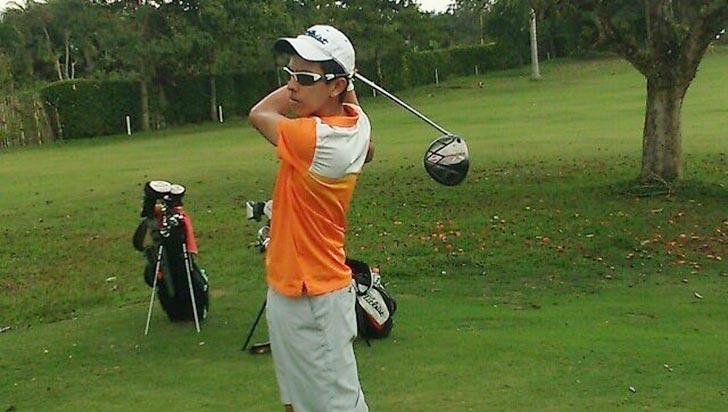 Juan David Pardo es el único quindiano en el selectivo al juvenil de golf