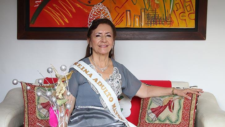 María Siboney Caro Ospina, de religiosa a reina
