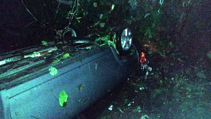 Cinco heridos dejó accidente de tránsito en la vía La Línea